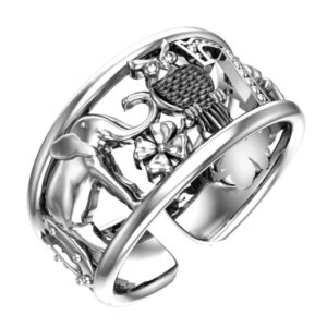 Кольца металл