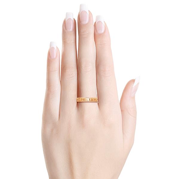 кольцо православное золотое