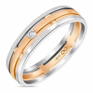 Кольцо c бриллиантом R01-WED-00078-RW