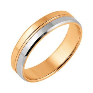 обручальное золотое кольцо